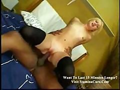 Tight Blond Teen Pussy Squirts For The First Time