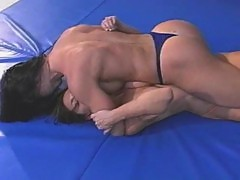 Fitness Models Topless Wrestling - Charlene Rink vs Jazz part 3