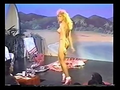 Three retro topless bikini contests