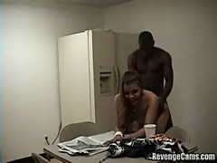 Caught fucking hard in the breakroom