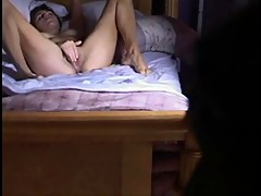 Sexy Chick Caught Masturbating On Hidden Cam