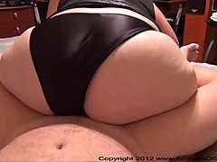 Anal Big Butt Housewife Gets Butt Fucked