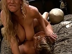 Busty Wife Treats Her Man Like A King For A Day