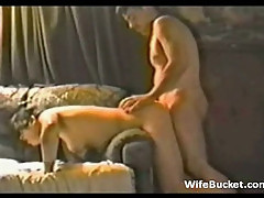 Redneck couple home sex tape