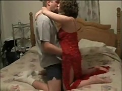 Wife and hubby having sensual sex