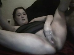 my wife takes triple in the pussy