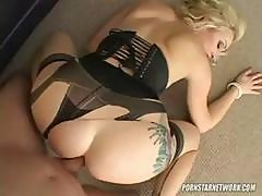 Adrianna Nicole Wears Sexy Lingerie While She Gets Pounded In Her Ass Pov Style