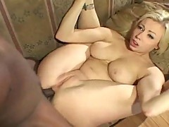 Busty Adrianna Nicole getting her tight ass banged and her tits covered in cum