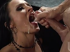 Big Hard Cock For The Slutty Brunette Alektra Blue
