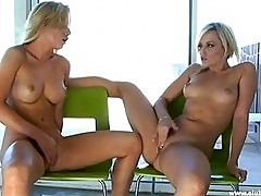 Alexis Texas and Kayden Kross hot lebians playing and lickin...