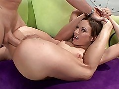Amber Rayne banged into her tight little ass