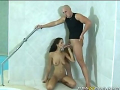 Angel Dark Fucking The Help