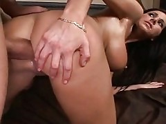 Thick and curvy momma Anna Nikova bent over stuffed with sau...