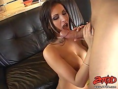 Amazing blowjob and hard action by busty Austin Kincaid