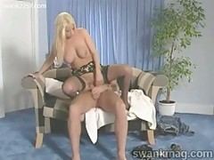 Babe brandy talore in stockings gets fucked hard