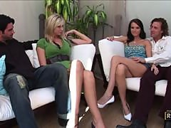 Brooke Banner and Jennifer Dark Learn to Share in a Sexy Party