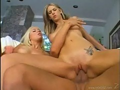 Brooke banner and sara jordan taking turns