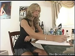 Jaclyn Case and Brooke Banner 3some