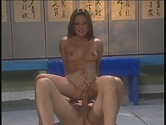 Sizzling Charmane Star bounces her cunt on a huge prick