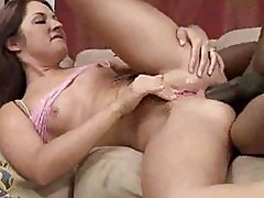 Chelsie Rae Gets A Big Black Cock In Her Ass
