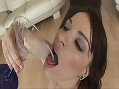 Dana dearmond loves swallowing sperm loads!