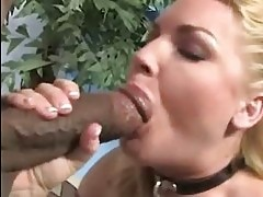 Flower Tucci squirt on her black guy