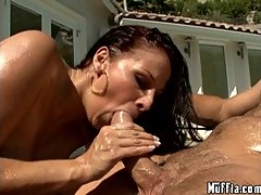 Solar blow job by Gianna Michaels