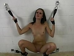 Hailey Young gets herself tied up for one hot pleasure she c...