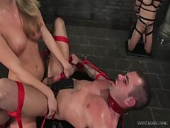 Harmony rose fucking a guy up the asshole
