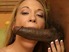 Jamie Elle levs his big black cock