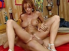 Scorching bitch Janet Mason gets awesomely fucked on her tig...