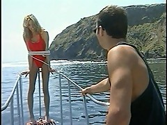 Jill Kelly gets wild in the midst of the sea
