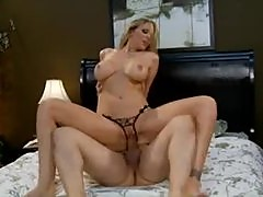 Hot Julia Ann the slut foreplay and fuck