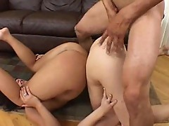 Katie and Kaci Take Turns Getting Fucked