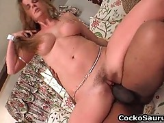 Kaylynn Kage stuffed by big pole