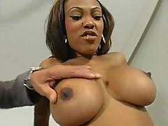 Monster Cock Action With The Ebony Hottie Lacey Duvalle