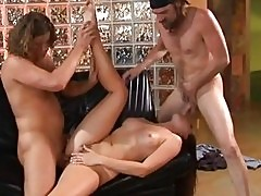 Sexy Lauren Phoenix double blowjob and hardcore