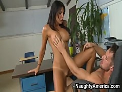 Lezley Zen Fucks Guy Senseless In teacher ...