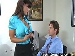 Lisa Ann Gets Worked At The Office
