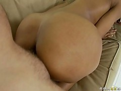 Marie Luv big ass booty gets her ass creamed after her ass get stuffed