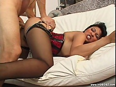Asian Mika Tan gets her wet pussy crammed with cock