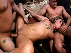 Monica Sweetheart anal with 2 studs