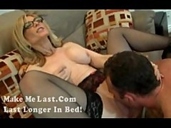 Nina hartley milf blowjob plus the handjob part2