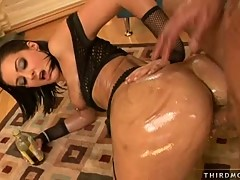 Presley Maddox gets fucked hard doggy style