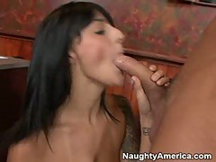 Presley Maddox loves the feel of a thick cock ramming her mouth