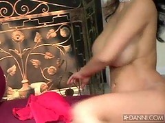 Priya Rai gets herself wide open for some hardcore taunting of others