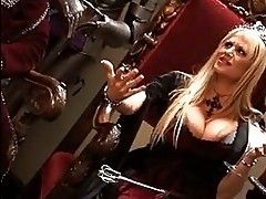 Sexy babe Shawna Lenee and friends play with hot cock and ge...