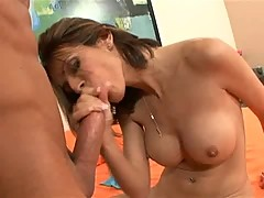 Babe Shy Love big breasted cum slut loves blowing big hard cock