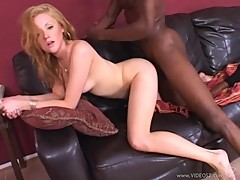 Blond sex bomb Sindee Jennings gets her tight cunt shagged hard from behind