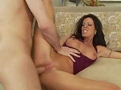 Milf Tabitha Stevens fucked in shaved pussy